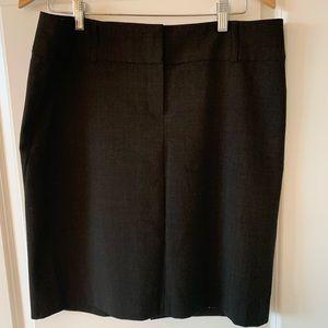 Express Pencil Skirt Dark Brown 12